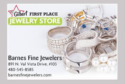 Barnes Fine Jewelers 891 N. Val Vista Drive, #103