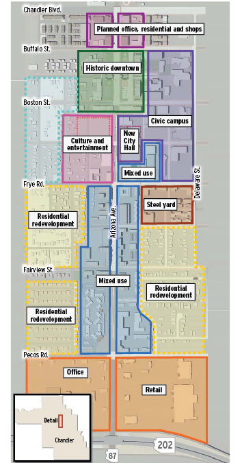 Long-awaited City Hall will transform downtown Chandler ... on map of arizona state fairgrounds, map downtown chand er, map of camelback mountain, map of arizona state capitol, map of camelback ranch, map of kierland commons, map of phoenix art museum, map of phoenix symphony hall, map of scottsdale, map of arizona mills,