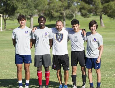 Chandler soccer players