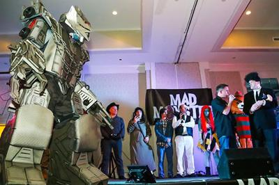 Zombie star headlines Mad Monster Party Sid Hair