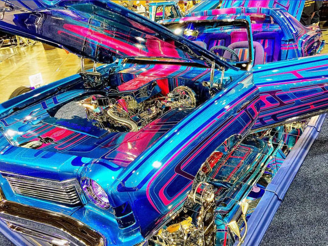 Lowrider Car Show Drives Into WestWorld Get Out - Westworld scottsdale car show