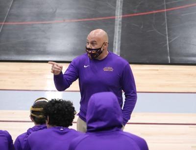 Mesa wrestling coach