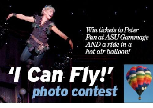 Enter I Can Fly Photo Contest To See Peter Pan And Ride In A Hot