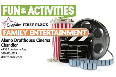 Alamo Drafthouse Cinema Chandler  4955 S. Arizona Ave.  520-213-8129