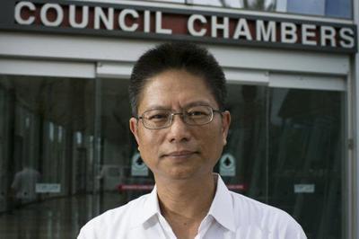 Chandler city Councilman Sam Huang