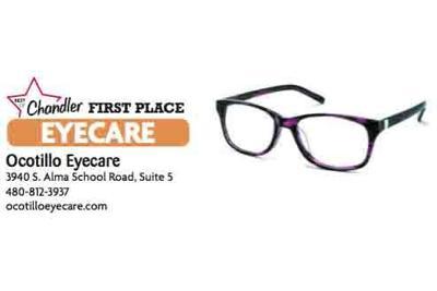 Ocotillo Eyecare  3940 S. Alma School Road, Suite 5  480-812-3937