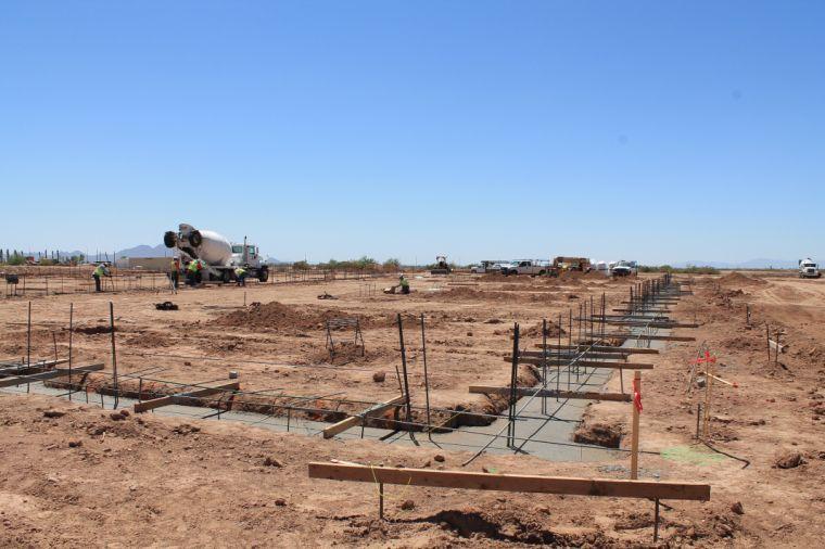 BASIS Mesa under construction