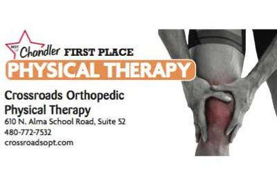 Crossroads Orthopedic Physical Therapy  610 N. Alma School Road, Suite 52  480-772-7532