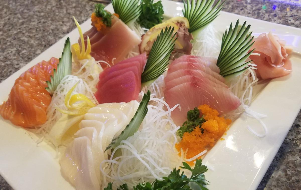 The sashimi plate is one of the popular dishes at Got Sushi.