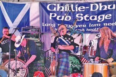 The Ghillie-Dhu Pub Styage