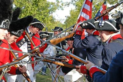 Actors to recreate Revolutionary War at Mesa July 4