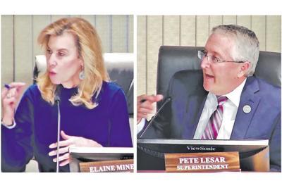 Mesa Public Schools Governing Board President Elaine Miner