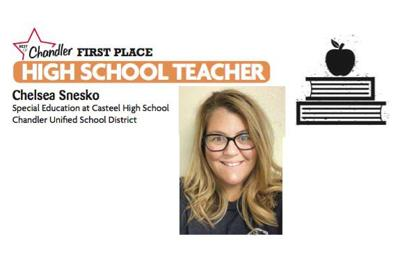 Chelsea Snesko, Special Education at Casteel High School  Chandler Unified School District
