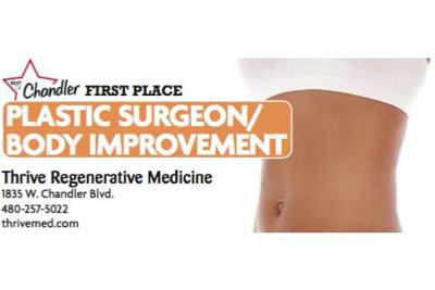 Thrive Regenerative Medicine  1835 W. Chandler Blvd.  480-257-5022
