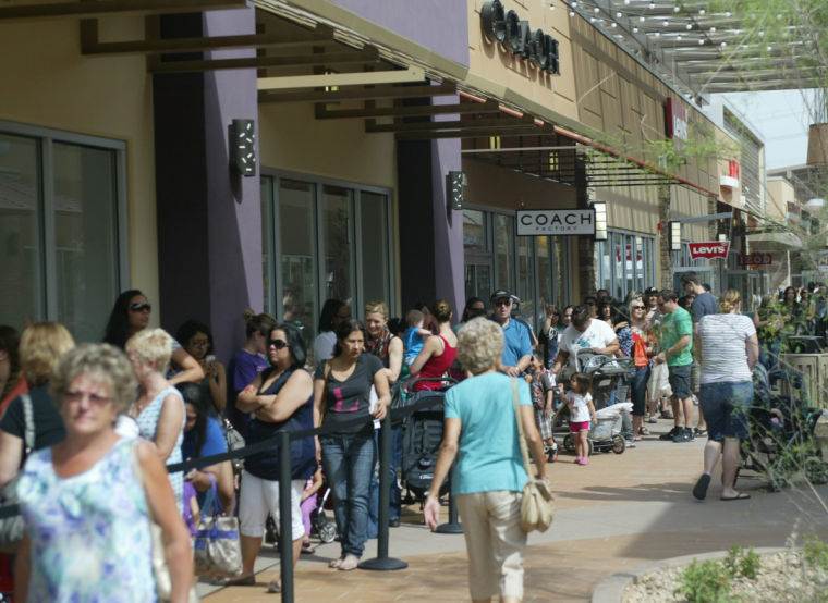 Taxes non-tribal members will see at the Phoenix Premium Outlets include Arizona and Maricopa county's transaction privilege tax, which is approximately percent and the Gila River Indian Community's transaction privilege tax, which is percent.