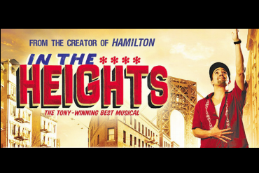 In the Heights Popular Broadway musical to hit the MAC