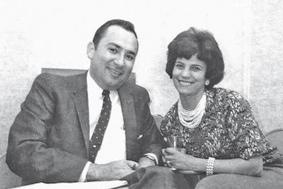 Ernie and Eva Serrano