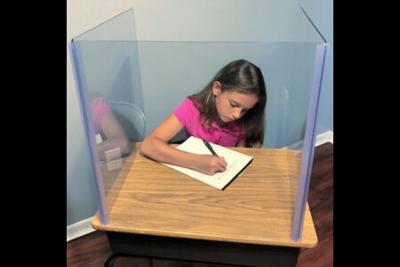 Mesa Public School Plexiglass screens