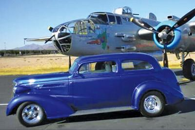 Vintage Wings And Wheels Car Show Back In East Mesa This Week - Mesa car show