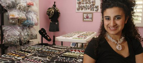 Teen's jewelry cuts swath across all age groups