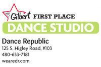 Dance Republic  125 S. Higley Road, #103