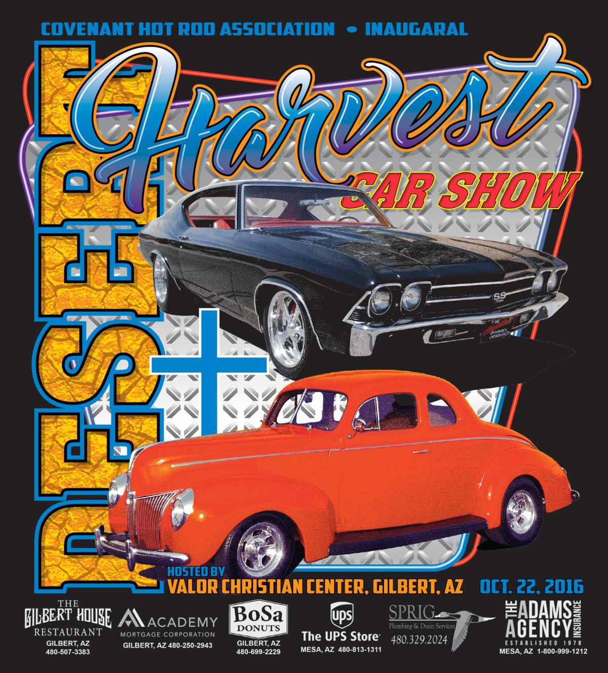 Gilbert Churchs Car Show Combines Hot Rods With Religion Arizona - Mesa car show