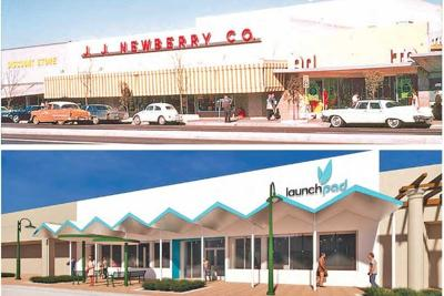 The J.J. Newberry's department store Launch Pad