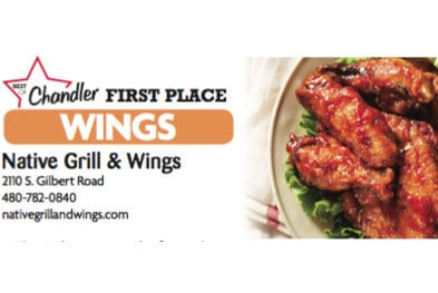 Native Grill & Wings  2110 S. Gilbert Road  480-782-0840