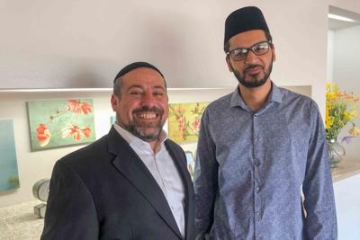 Rabbi Michael Beyo and Imam Faheem Arshad