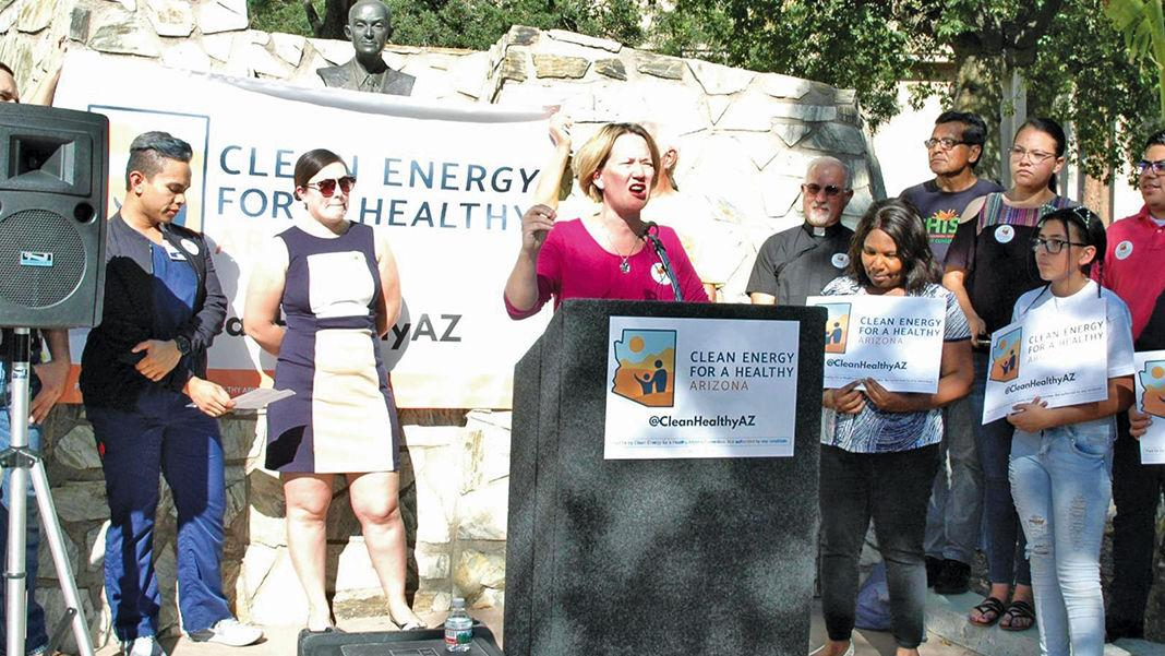 Mesa, Gilbert mayors side with APS in clean-energy suit