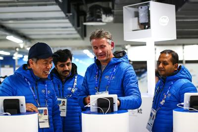 Intel's new 5G speed was shown off at the PyeongChang Winter Olympics