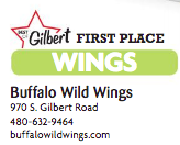 Buffalo Wild Wings 970 S. Gilbert Road