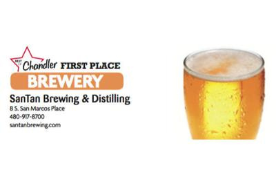 SanTan Brewing & Distilling  8 S. San Marcos Place  480-917-8700
