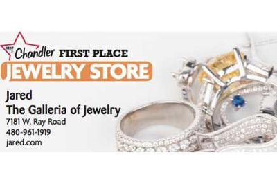 Jared The Galleria of Jewelry  7181 W. Ray Road  480-961-1919