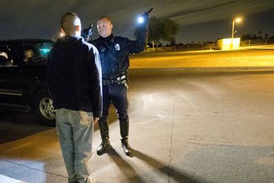 Mesa Police DUI arrest