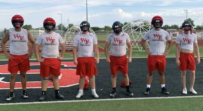 Williams Field offensive line