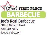 Joe's Real Barbecue 301 N. Gilbert Road