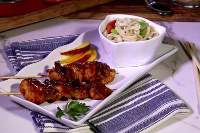 Noodle your way to a great holiday meal of kabobs Recipe fourth of july