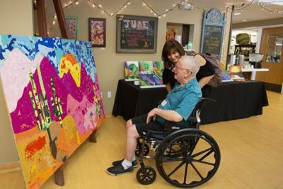Nonprofit celebrates dementia patients' minds