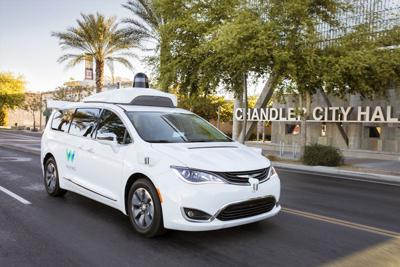 Uber Waymo Car