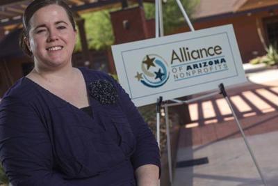 Kristen Merrifeld, CEO of the Alliance of Arizona Nonprofits