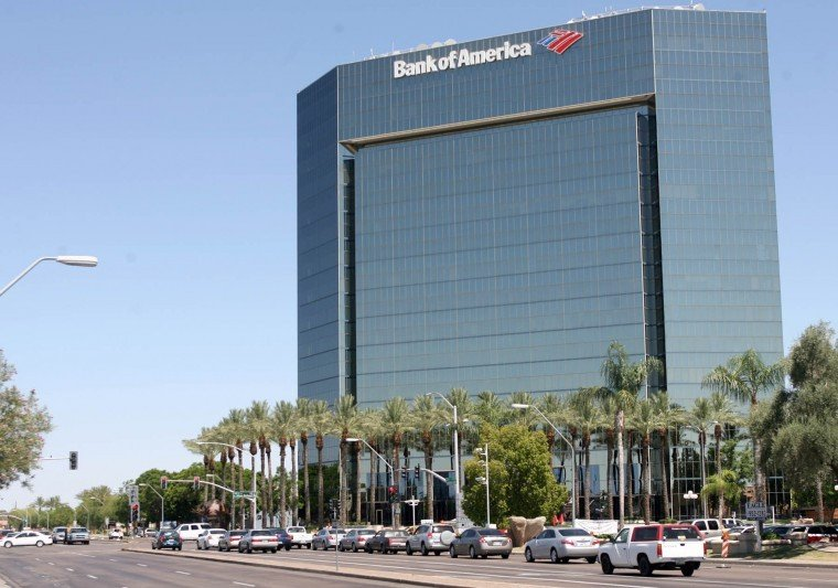 Bank Of America Fashion Valley Mall