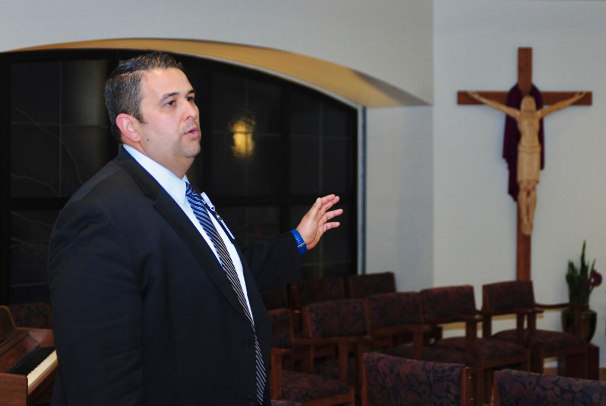 Chaplain Mario Valadez at Dignity Health Mercy Gilbert Medical Center