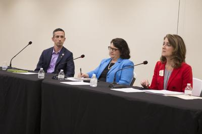 People in parts of Mesa, Chandler and Tempe residents can easily keep track of Legislative District 18  state Sen. Sean Bowie, state Reps. Mitzi Epstein, center, and Jill Norgaard.