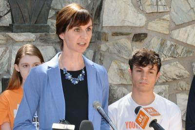 Schools chief, students make new plea for counselors Kathy Hoffman Justin Harb