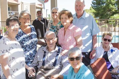 Clair Gobble adds a surprise party to a century of memories