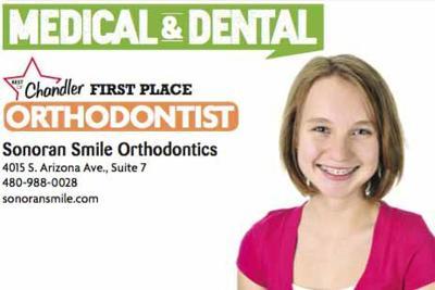 Sonoran Smile Orthodontics  4015 S. Arizona Ave., Suite 7  480-988-0028