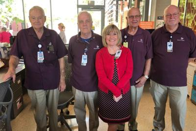 Bob Gerlach Banner MD Anderson Cancer Center volunteer program