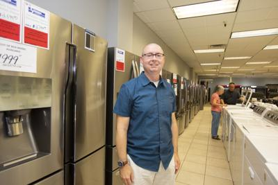 Spencer's surprises 3 lucky customers TV & Appliance Rob Gaschler