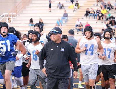 Chandler coach Rick Garretson